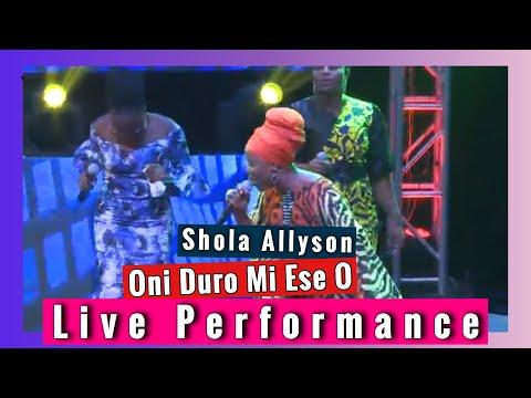 Oni Duro Mi Ese O by Shola Allyson | Live Performance/concert 2020