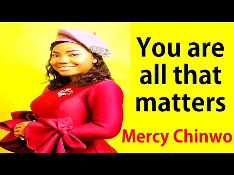 All That Matters Mercy Chinwo & GUC - I will put You in front of my melody worship Gospel songs