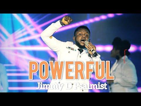 JIMMY D PSALMIST - POWERFUL (OFFICIAL LIVE VIDEO)