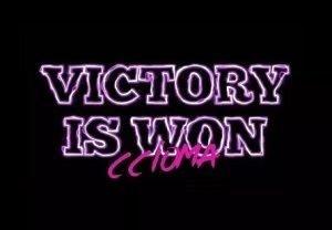 Victory is Won Ccioma