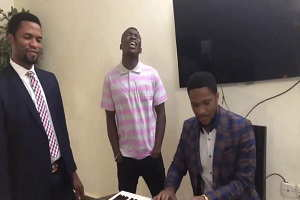 Song of Angels Cover By Lawrence Oyor Ft. Mike Orokpo & Theophilus Sunday
