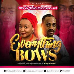 Everything Bows By Ola & Tola Emmanuel
