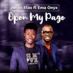 Julius Etas - Open My Page Ft. Ema Onyx [MP3 and Lyrics]
