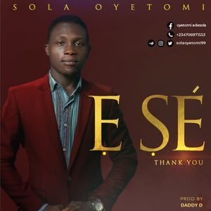 Download E Se (Thank You) By Sola Oyetomi